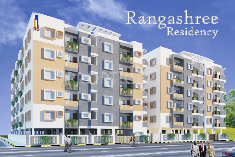 Elevation Stones In Hyderabad : Main elevation image of rangashree residency unit