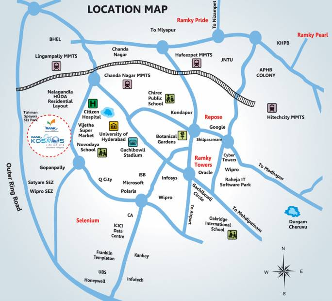 Images for Location Plan of Ramky One Kosmos