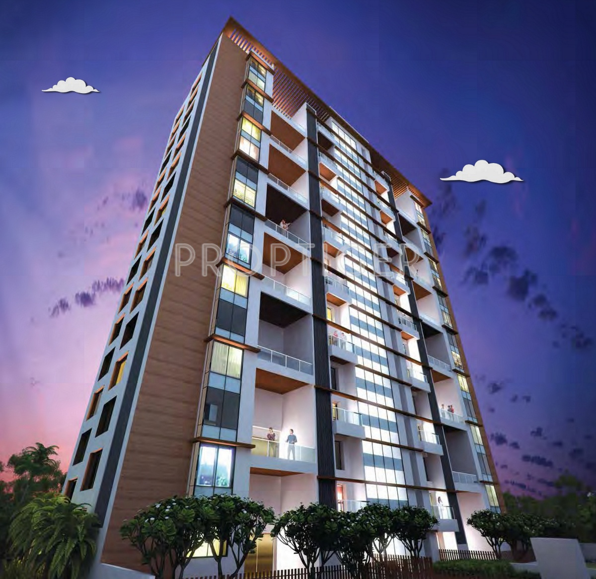 High Rise Apartments: 3100 Sq Ft 4 BHK 4T Apartment For Sale In Gera