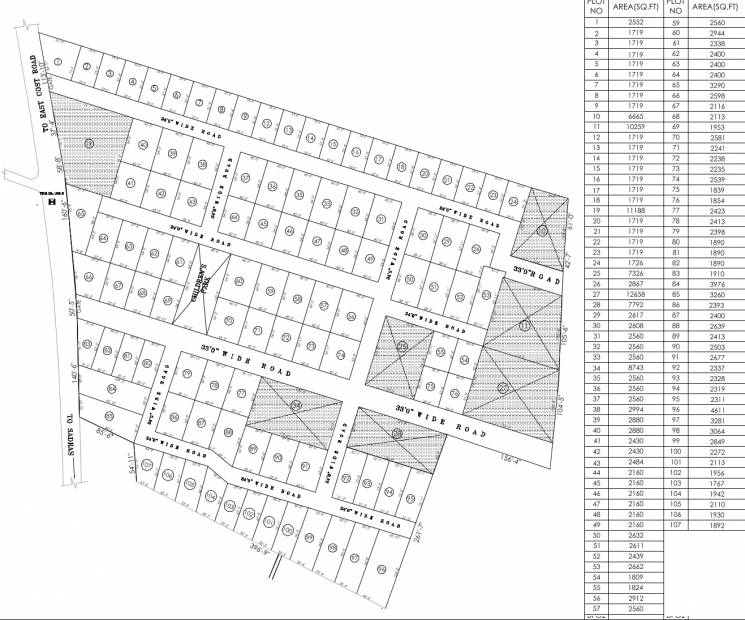 Images for Layout Plan of Star Beach Park