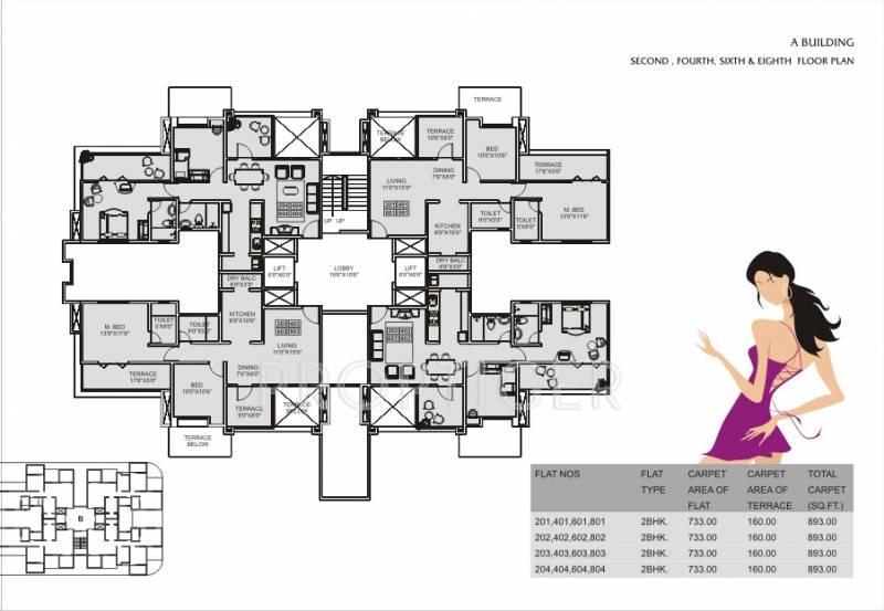 Images for Cluster Plan of Shreyas Palladium Exotica