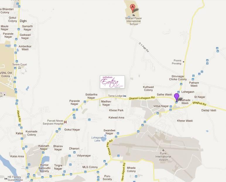Images for Location Plan of Shreyas Palladium Exotica