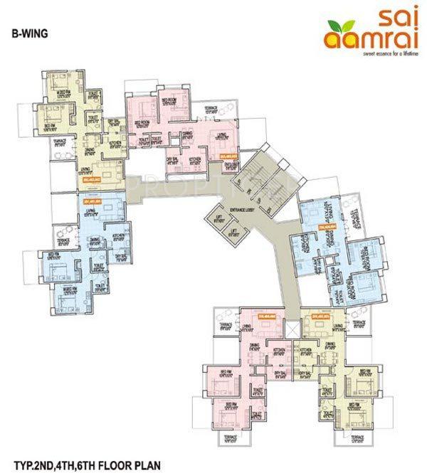Shri sai nath developer sai aamrai in vadgaon budruk pune for Floor 5 map swordburst 2