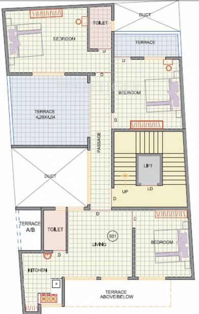 Images for Cluster Plan of Arun Sheth Anika Heights