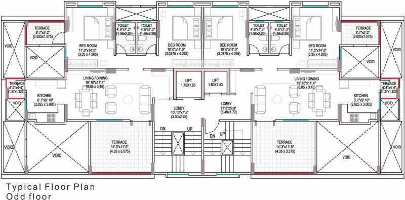 Images for Cluster Plan of Angal Adora Residence