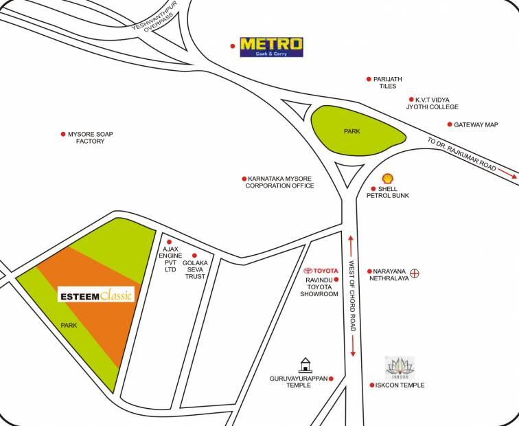 Images for Location Plan of Esteem Classic
