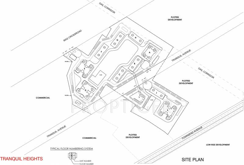 Images for Site Plan of Vatika Tranquil Heights