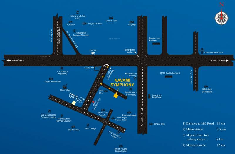 Images for Location Plan of Navami Symphony