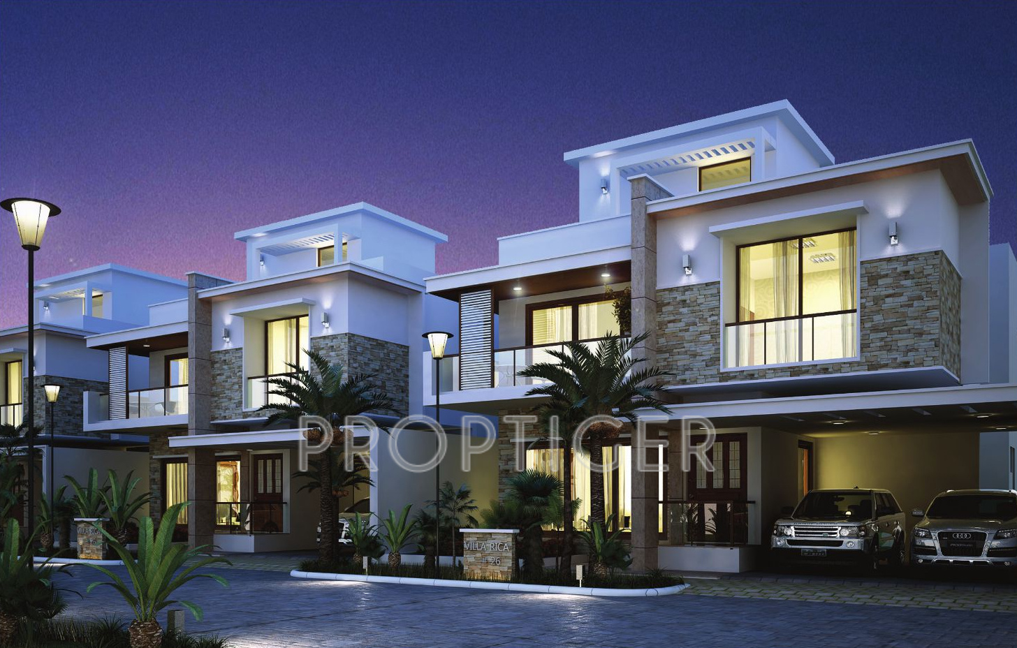 Ground Floor House Elevation In Bangalore : Main elevation image of veracious builders villa rica