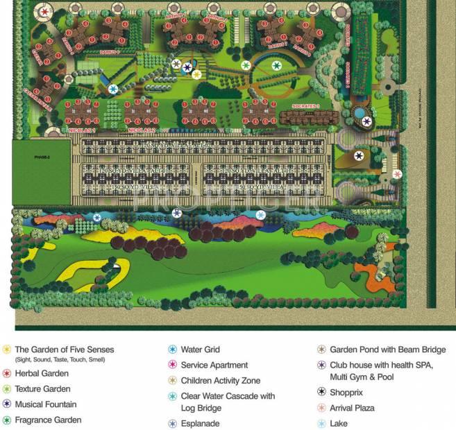 Images for Site Plan of Supertech Czar Villas