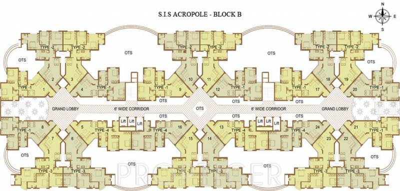 Images for Cluster Plan of South India Acropole