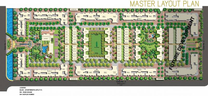 Images for Master Plan of Mahindra Bloomdale Apartment