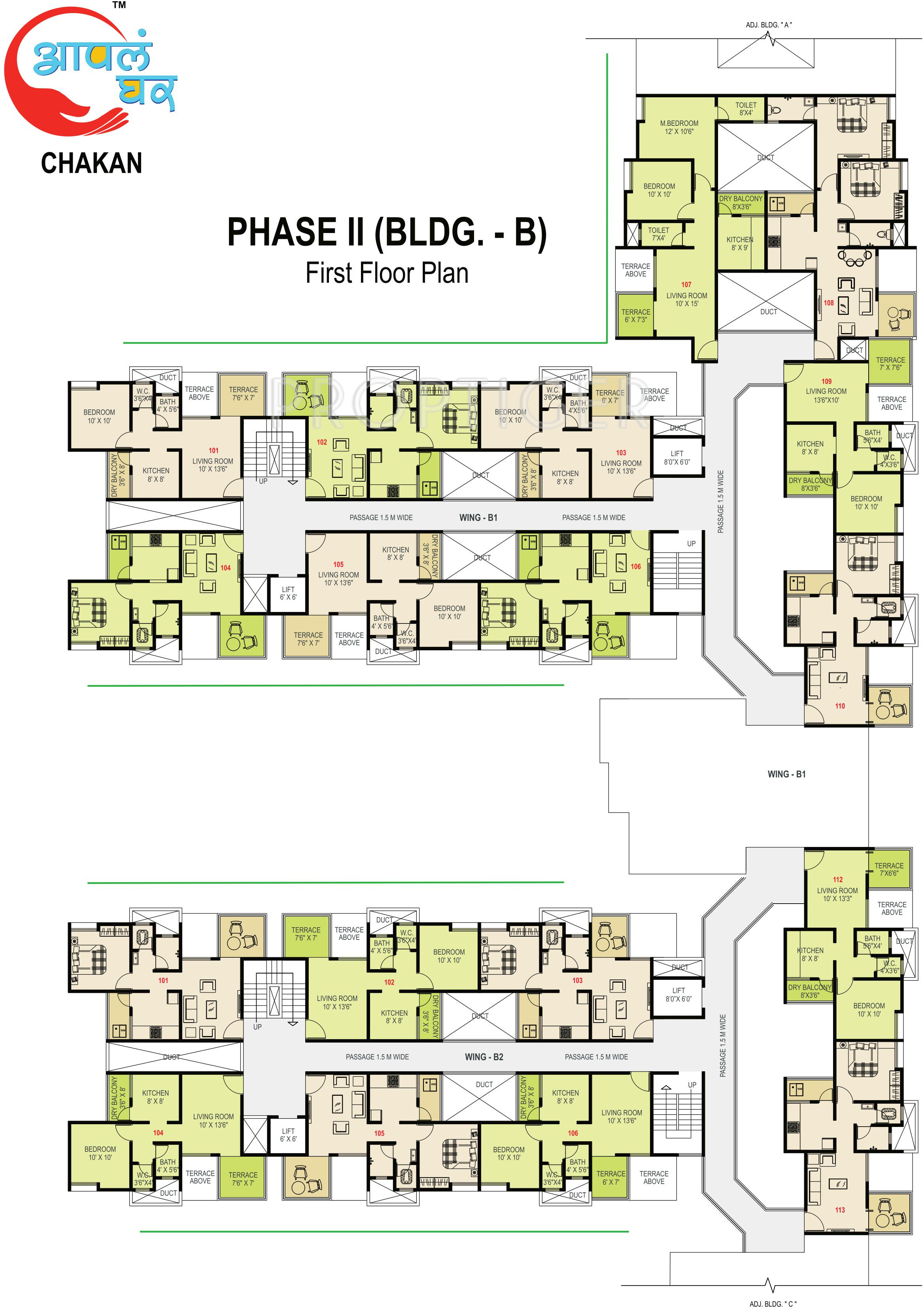 Maple aapla ghar chakan in chakan pune price location for Ghar plans design