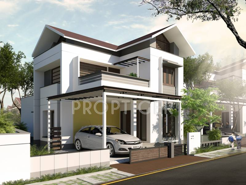 Images for Elevation of National Merry Land Villas