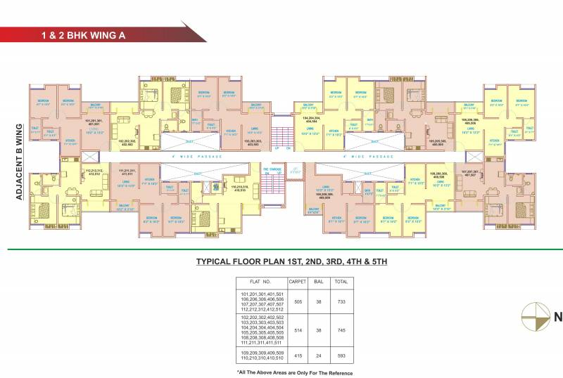 Images for Cluster Plan of Maple Aapla Ghar Shikrapur