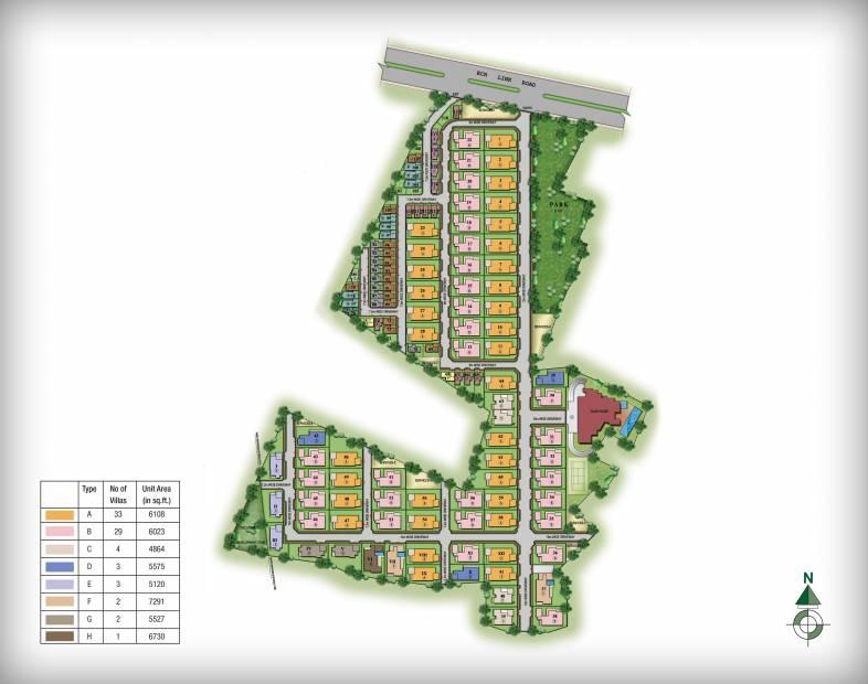 Images for Master Plan of Prestige Silver Springs