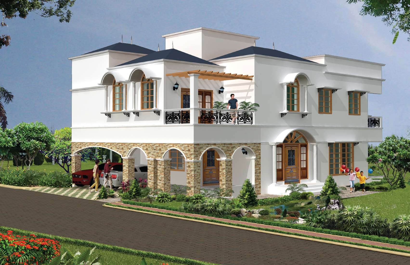 Prestige royal woods in kismatpur hyderabad price - Exterior paint calculator by square foot ...
