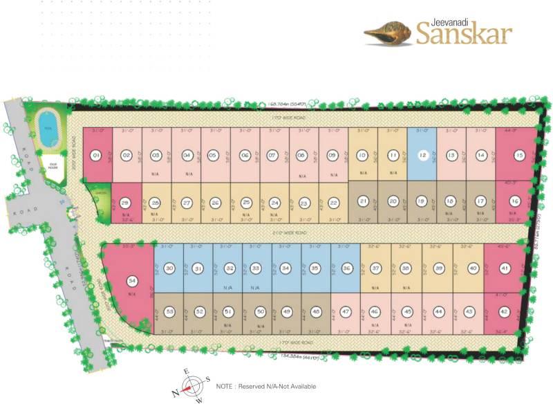 Images for Master Plan of Sreenidhi Realtors Jeevanadi Sanskar