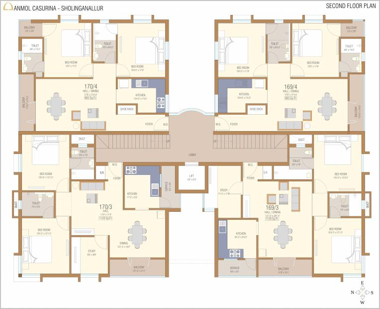 Images for Cluster Plan of Anmol Casurina