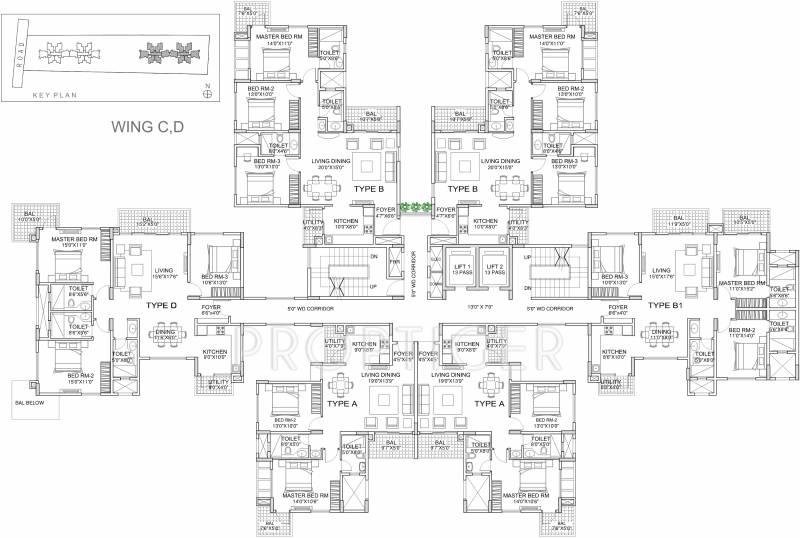 Images for Cluster Plan of Emmanuel Heights