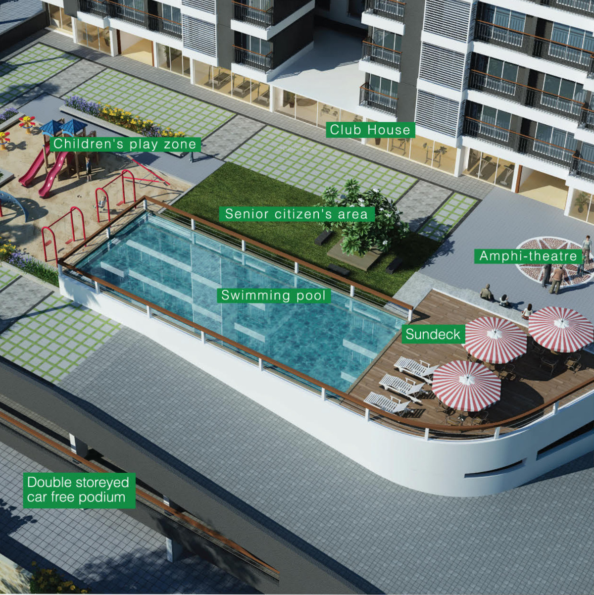 Wadhwa Evergreen Heights In Thane West Mumbai Price Location Map Floor Plan Reviews