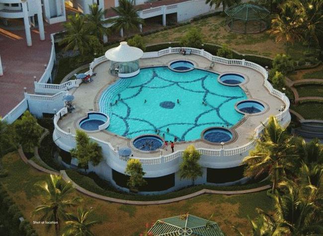 Image of swimming pool of ibc platinum city yeshwantpur - Swimming pool builders in bangalore ...