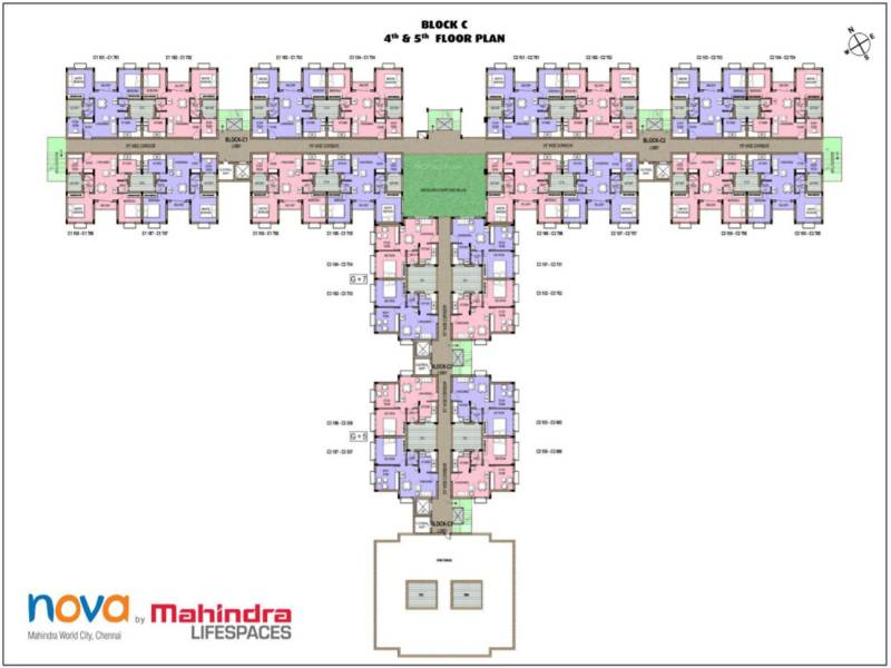 Images for Cluster Plan of Mahindra Nova
