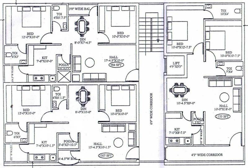 sai-krupa-residency Images for Cluster Plan of Priya Sai Krupa Residency