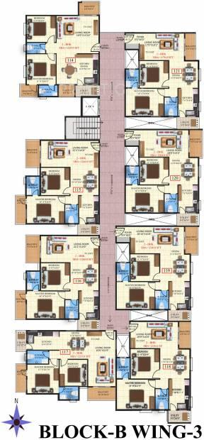Images for Cluster Plan of SV Brindavanam