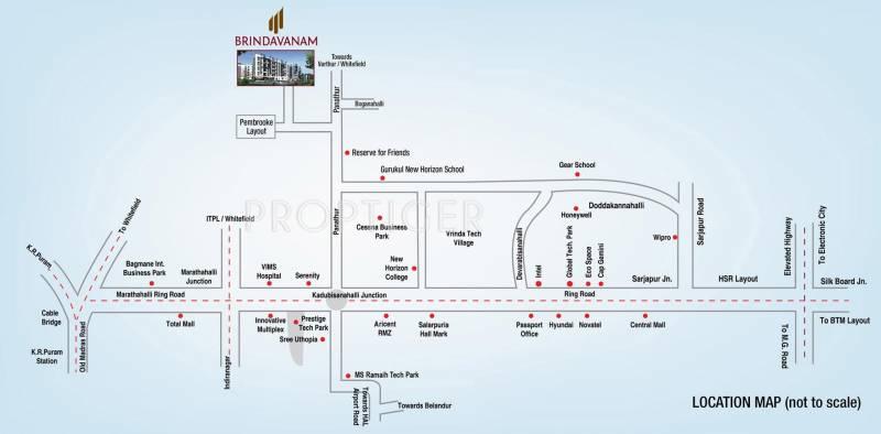 Images for Location Plan of SV Brindavanam