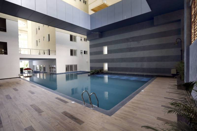 Image of swimming pool of my home constructions abhra - Swimming pool construction cost in hyderabad ...