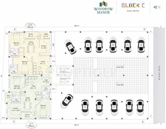 Images for Cluster Plan of Sekaran Woodrow Manor