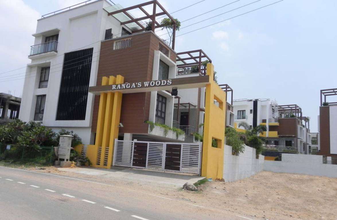Wood Elevation Network : Sq ft bhk t villa for sale in ranga woods