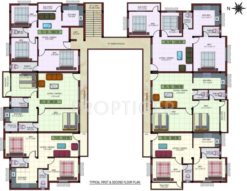 Images for Cluster Plan of Kaaviya Isha