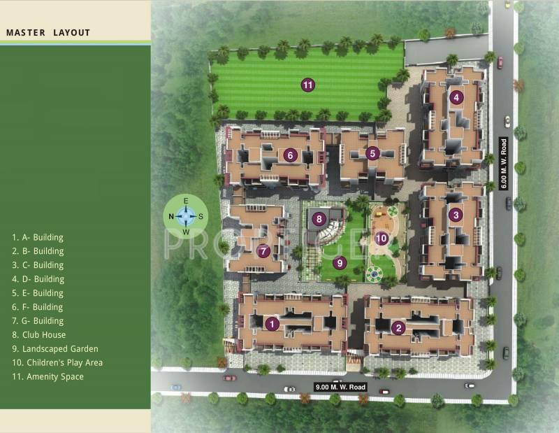 Images for Layout Plan of SGL Vishwajeet Residency