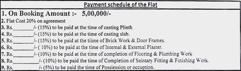 Images for Payment Plan of SGL Vishwajeet Residency