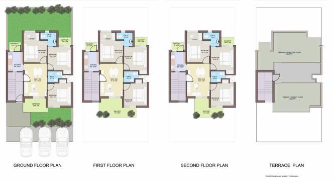 Images for Cluster Plan of BPTP Park Elite Floors