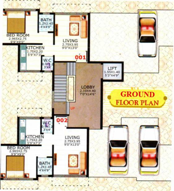 Images for Cluster Plan of Skyline Aarush Darshan