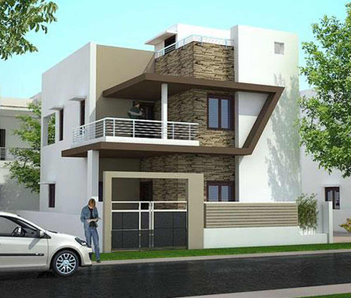 1200 sq ft 2 bhk 2t villa for sale in vrr constructions for Modular homes duplex prices