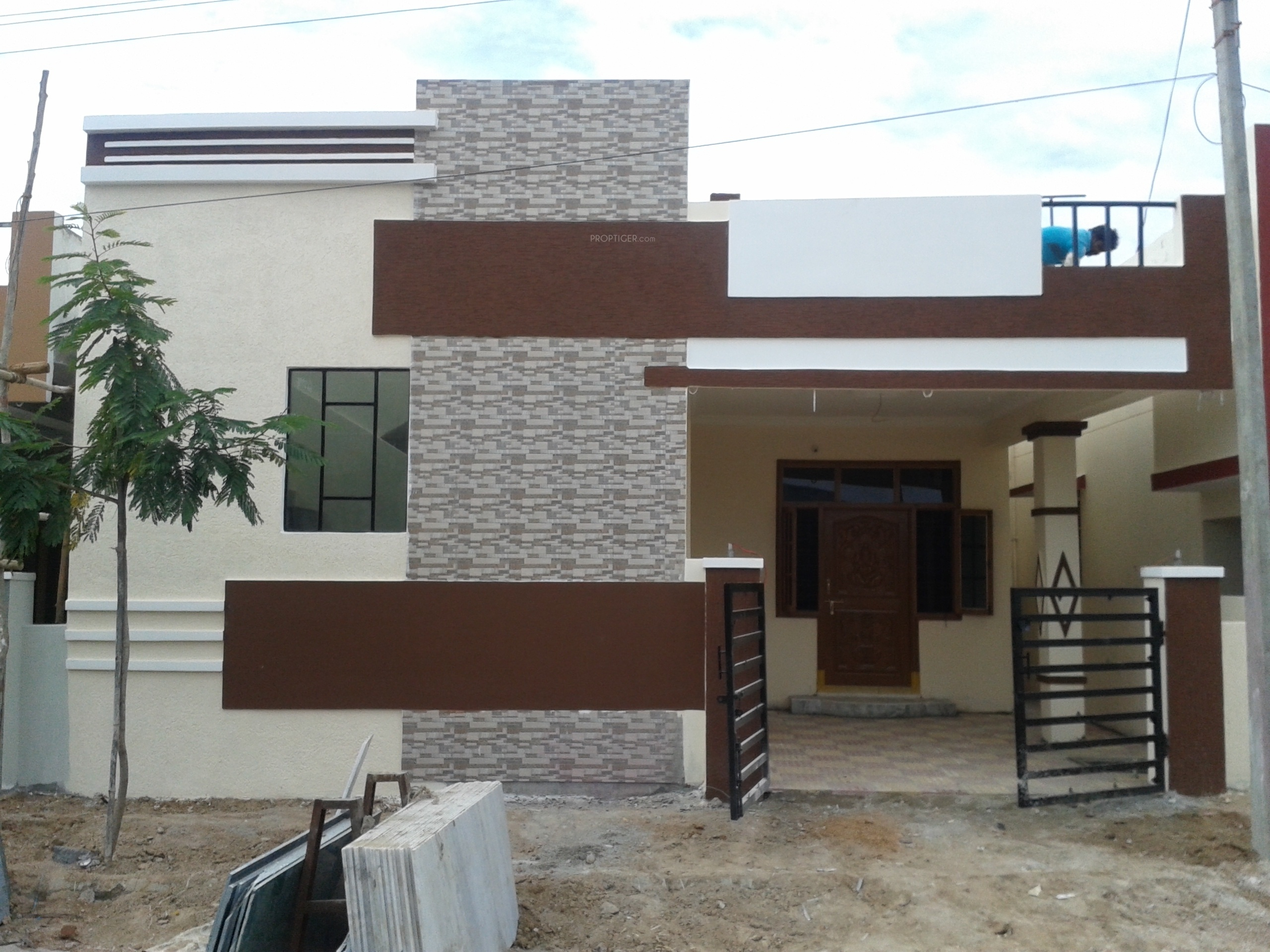 850 sq ft 2 bhk 2t villa for sale in vrr constructions enclave