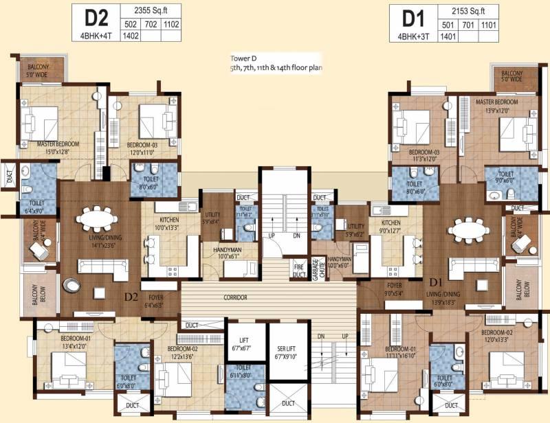 tango Images for Cluster Plan of Akshaya Tango