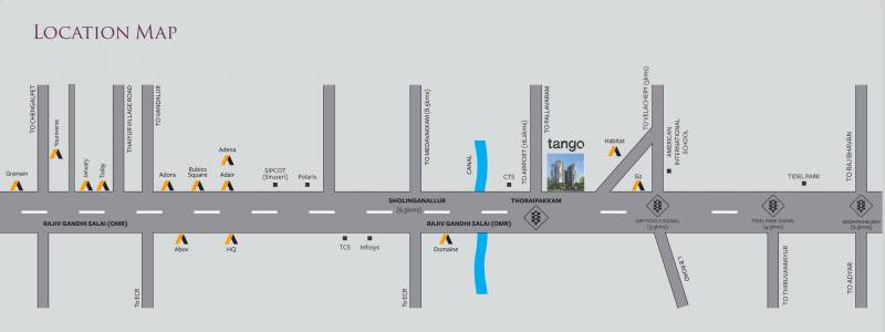 Images for Location Plan of Akshaya Tango