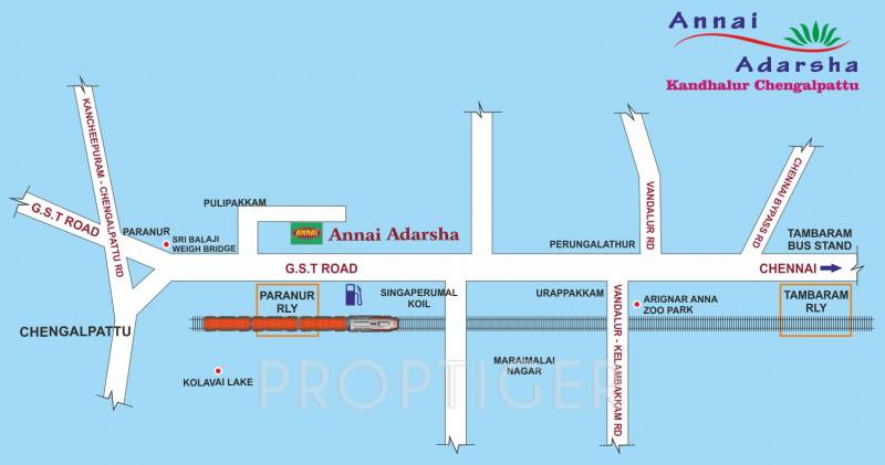 Images for Location Plan of Annai Adarsha