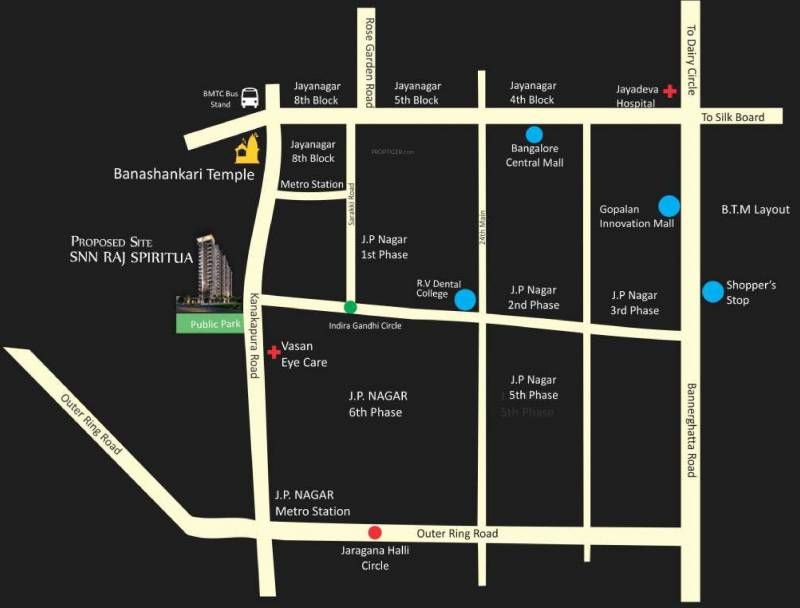 Images for Location Plan of SNN Raj Spiritua
