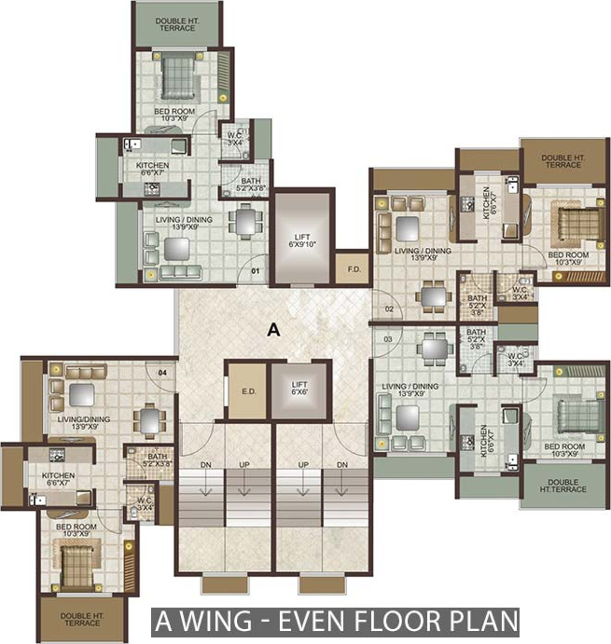 Lakhani Lakhanis Orchid Woods In Khopoli, Mumbai   Price, Location Map,  Floor Plan U0026 Reviews :PropTiger.com