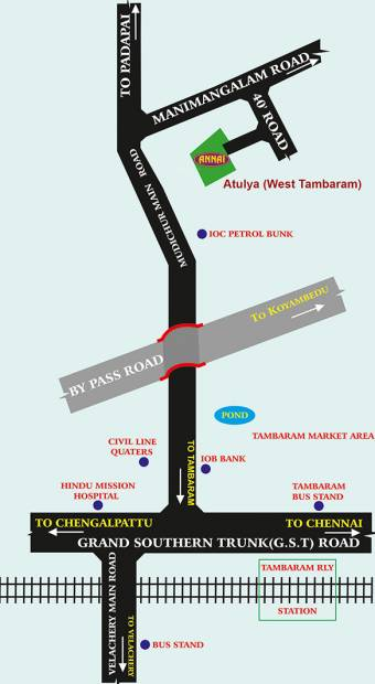 Images for Location Plan of Annai Atulya