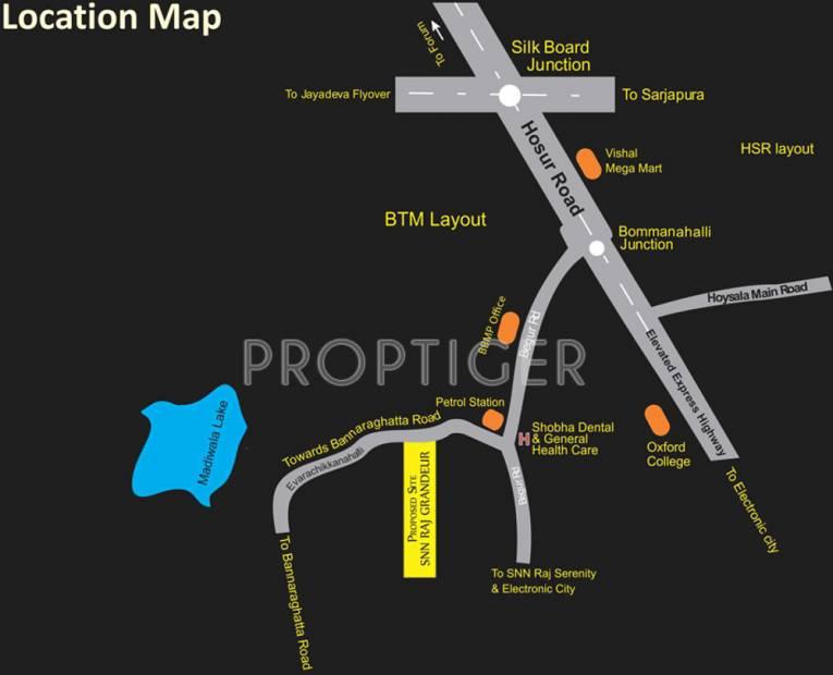 raj-grandeur Images for Location Plan of SNN Raj Grandeur