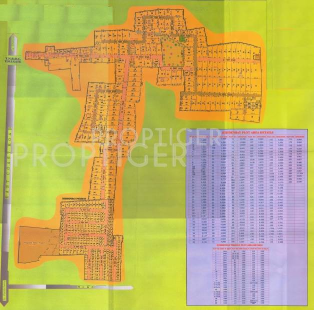Images for Layout Plan of Annai Sea Side Beach