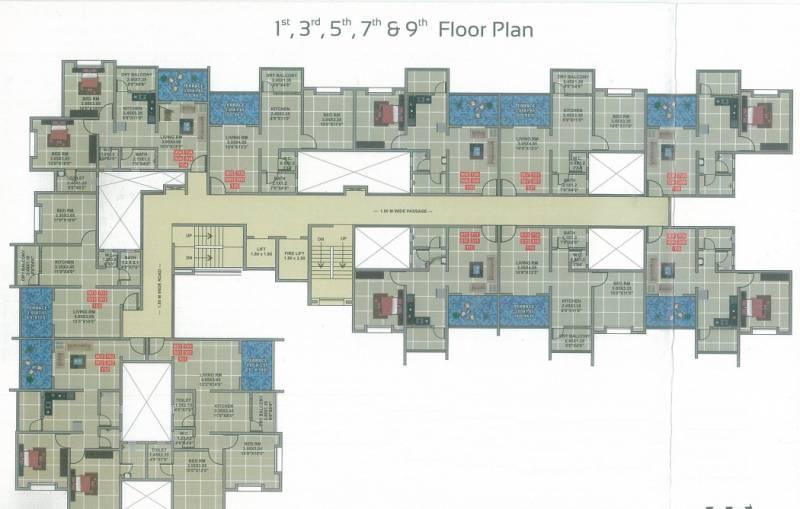 Images for Cluster Plan of Mehta Shree Jalaram Park