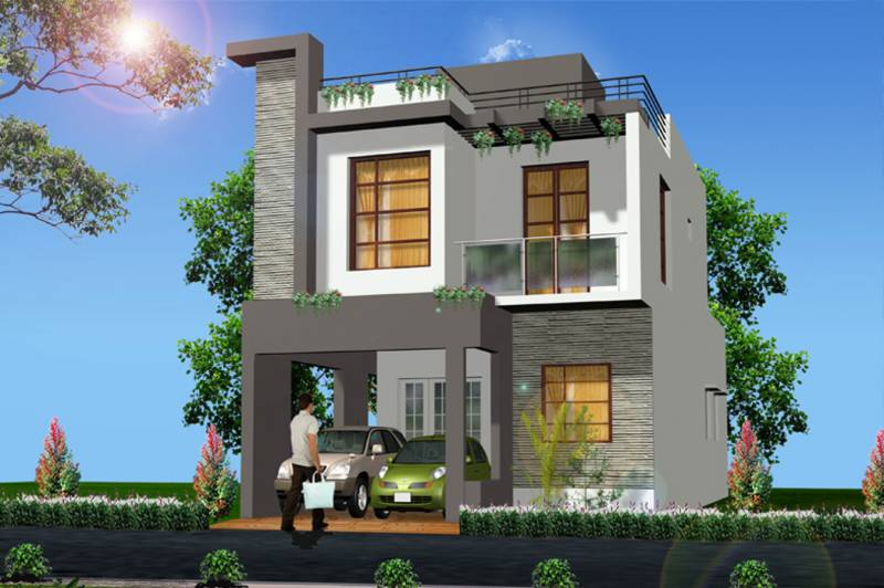 Images for Elevation of MM Builders Srushti